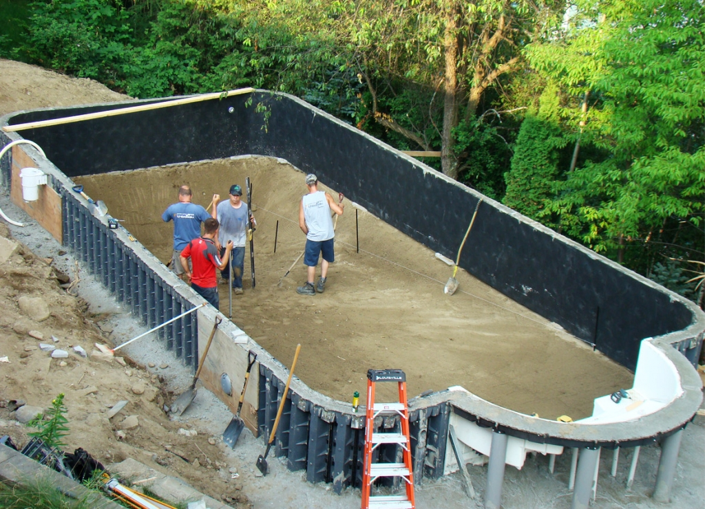 Am nagement ext rieur piscine entrepreneur g n ral en construction sherbrooke magog estrie - Photos amenagement exterieur ...